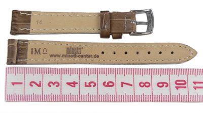 Morellato Bolle Ersatzband Uhrenarmband Kalbsleder Band Braun 14mm 20143S – Bild 2