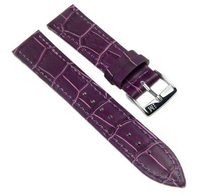Morellato Bolle Ersatzband Uhrenarmband Kalbsleder Band Violett 16mm 20147S – Bild 1