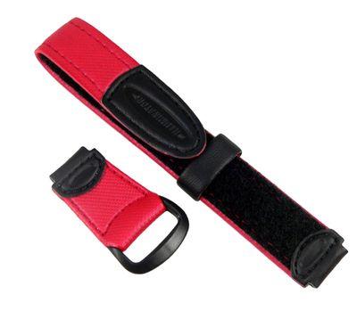 Casio Uhrenarmband Klettband Rot/schwarz 14mm LW-200V-4AV LW-200