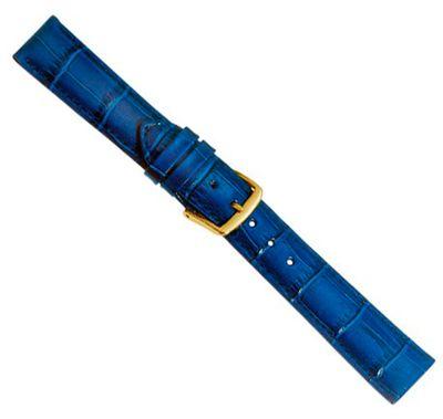 Ersatzband Uhrenarmband Kalbsleder Kobaltblau  20353G – Bild 1