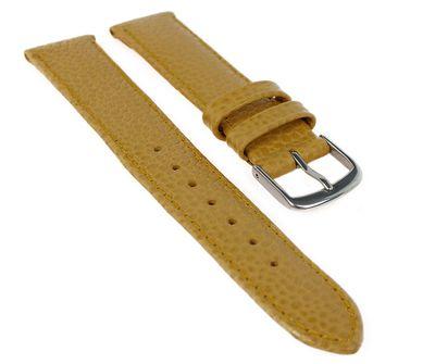 Uhrenarmband Leder gelb weich Birkenstock Hermes 20404S – Bild 1