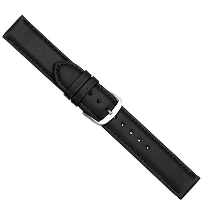 Uhrenarmband Kalbsleder schwarz Herzog Beach 20433S – Bild 1