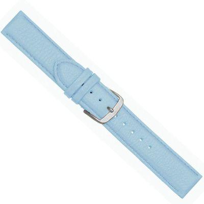 Beach Ersatzband Uhrenarmband Kalbsleder Hellblau  20447S – Bild 1