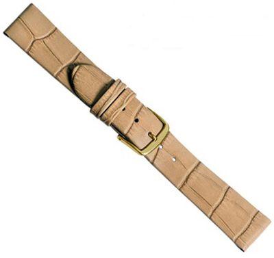 Louisiana Clip Ersatzband Uhrenarmband Kalbsleder Sand 20476G – Bild 1