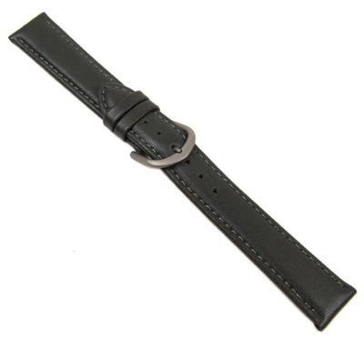 Minott Ersatzband Uhrenarmband Kalbsleder Grau Titanschließe 20609T – Bild 2
