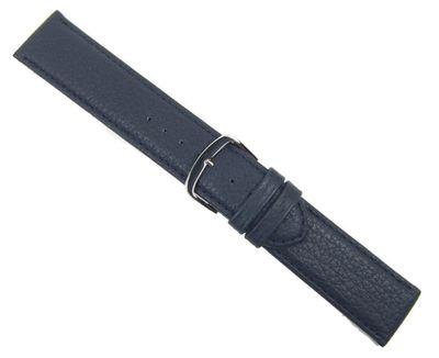 Birkenstock Imperator Ersatzband Uhrenarmband Kalbsleder Wasserdicht Dunkelblau 20662S – Bild 2