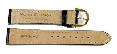 Maurice Lacroix  XL Ersatzband   Kalbsleder-Louisiana, schwarz 20836G – Bild 2