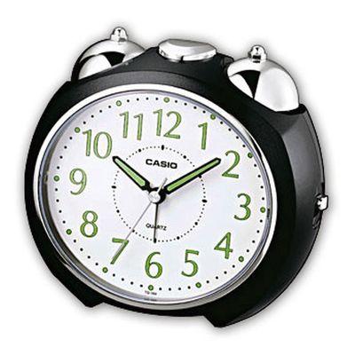 Casio Analog Wecker Bell Alarm mit Snooze schwarz TQ-369-1EF