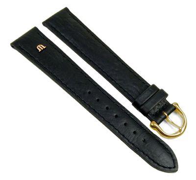 Maurice Lacroix Uhrenarmband Büffelkalb Leder schwarz XL 20898G – Bild 1
