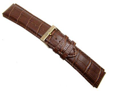 Esprit Uhrenarmband Leder Krokoprägung braun 22mm für 101311705 – Bild 2