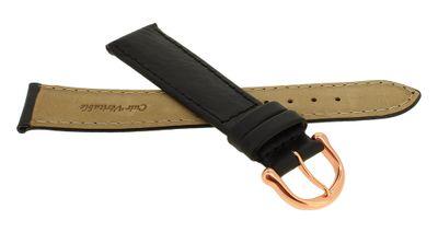 Maurice Lacroix Uhrarmband Büffelkalb Leder schwarz gepolstert 20969 – Bild 6