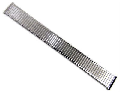 Minott Flex Band Uhrenarmband 20mm | Edelstahl silbern 21042S – Bild 3