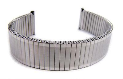 Minott Flex Band Uhrenarmband 20mm | Edelstahl silbern 21042S – Bild 1