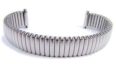 Minott Flex Band Ersatzband Uhrenarmband Edelstahl Zugband mit Teleskop-Anstoß 21118
