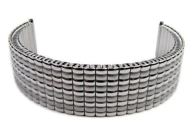 Flex Band Ersatzband Uhrenarmband Edelstahl Zugband 22mm 21130S