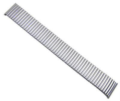 Minott Flex Uhrenarmband 22mm | Edelstahl Zugband grader Anstoß 21131S – Bild 3