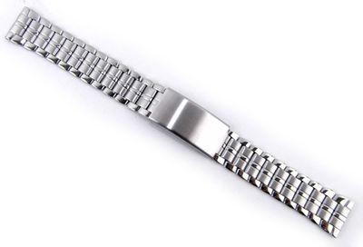Minott Uhrenarmband Edelstahl 18mm | Band silbern 21145S