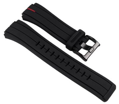 Timex Ersatzband Kunststoff schwarz 16mm T2N720 T2N722 T2N723 T49709 – Bild 1
