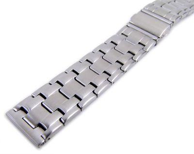 Minott Ersatzband 20mm   Uhrenarmband Edelstahl Faltschließe 21160S – Bild 2
