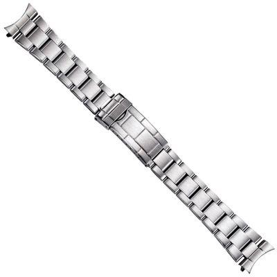 Minott Uhrenarmband Edelstahl Massiv 20mm Rundanstoss 21194S