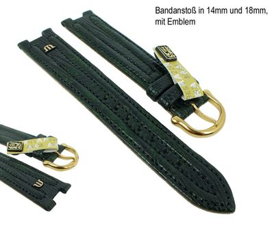 Maurice Lacroix für Calypso / Scala Ersatzband Uhrarmband Teju-Wulst Grün 21215G – Bild 3