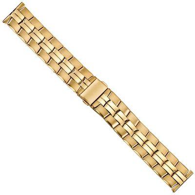 Minott Ersatzband Uhrenarmband Edelstahl Band 20mm PVD-Gelbgold 21218G