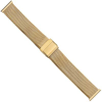 Ersatzband Uhrenarmband Edelstahl Milanaise Band 20mm PVD-Gelbgold 21222G