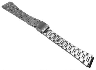 Casio Collection Uhrenarmband 18mm | Edelstahlband für A163WA – Bild 1