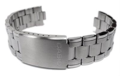 Casio Ersatzband Uhrenarmband Edelstahl Band für MTP-1215A MTP-1259D – Bild 2