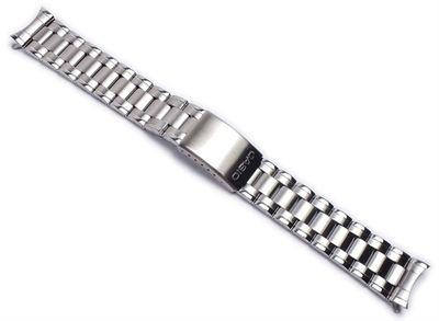 Casio Ersatzband Uhrenarmband Edelstahl Band für MTP-1215A MTP-1259D