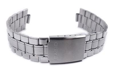 Casio Ersatzband Uhrenarmband 20mm Edelstahl MTP-1141 MTP-1141PA – Bild 3