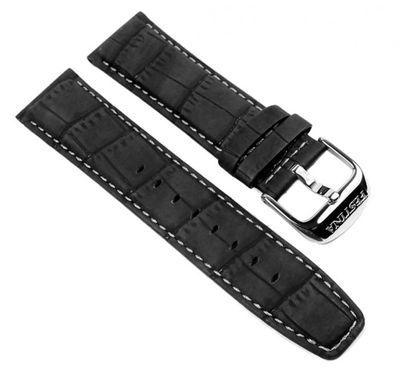Festina Ersatzband Uhrenarmband Leder Band Fliegerbandoptik 23mm schwarz F16573/3 F16573/