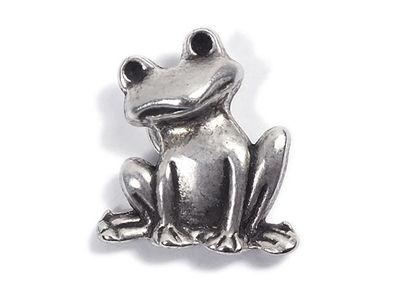 Minott Frosch Anhänger aus versilbertem Messing 21447