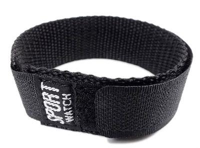 Minott Sport Durchzugsband Klettverschluss Textil schwarz 18 - 20mm – Bild 1