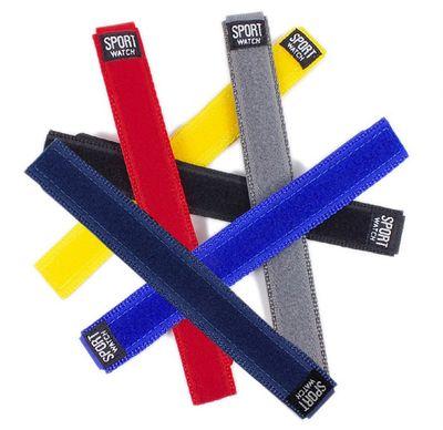 Durchzugsband Textil Rot 18 - 20mm Minott Sport-Watch 21522 – Bild 2