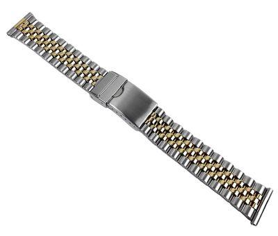 Birkenstock Ersatzband Uhrenarmband Edelstahl Band Bicolor 20mm 697118 – Bild 1