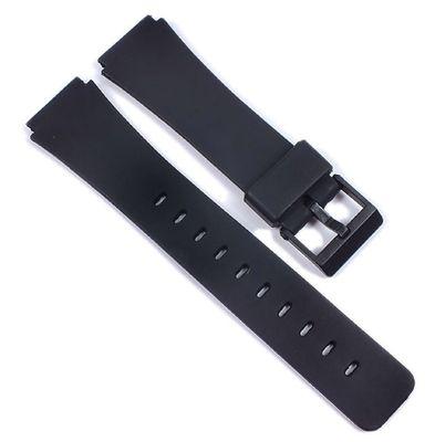 Uhrenarmband Kunststoff schwarz glatt 18mm Minott 21599 – Bild 1
