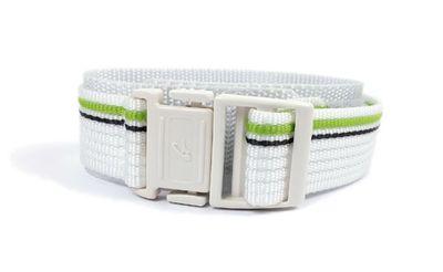 Casio Uhrenarmband 20mm Textil Klettband Durchzugsband Weiss-Grün BG-3003V BG-3003V – Bild 2