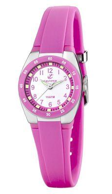 Calypso Armbanduhr Mädchenuhr Kinderuhr Analoguhr 10ATM K6043/C