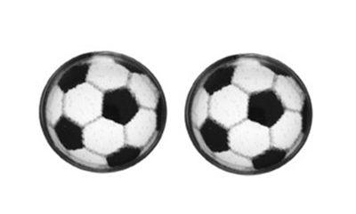 Minott Fußball Erstohrstecker Fanartikel Steril - Palladiumbeschichtet