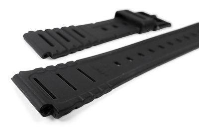Casio Uhrenarmband 20mm   Resin schwarz W-741 W-720 CA-53W – Bild 2