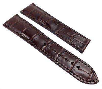 Ersatzband Leder Krokooptik braun Maurice Lacroix Pontos 21992F