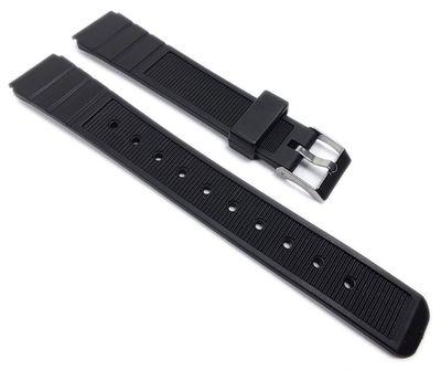Minott Ersatzband Uhrenarmband Sportband PVC Band schwarz 22017S
