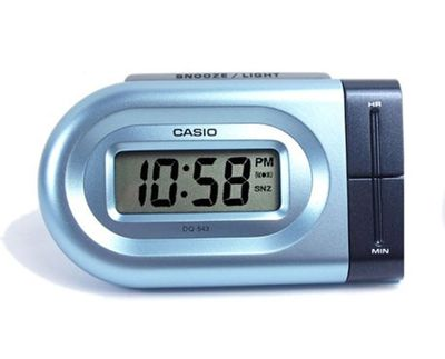 Reisewecker digital LED Light Tagesalarm Casio DQ-543 – Bild 1