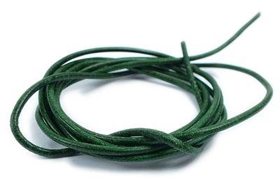 Minott Halskette Ziegenleder Lederriemen Lederband 100cm Grün 22090