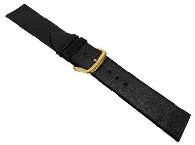 Uhrenarmband Kalbsleder schwarz passend für Skagen Boccia-Uhren 22184G – Bild 2