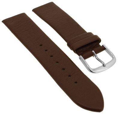 EULIT Ersatzband Leder, braun | passend für Skagen zum Verschrauben – Bild 1