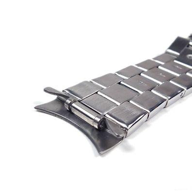 Casio  Ersatzband Uhrenarmband Edelstahl Silberfarben 23mm für EFR-512D – Bild 3
