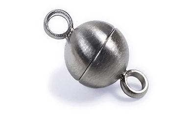 Minott Magnetschließe - Verschluss für Ketten und Schmuck - Edelstahl Satiniert 22344 – Bild 1