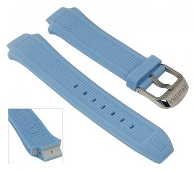 Festina Ersatzband Uhrenarmband Silikon Band Hellblau für F16560/2 F16560 F16559